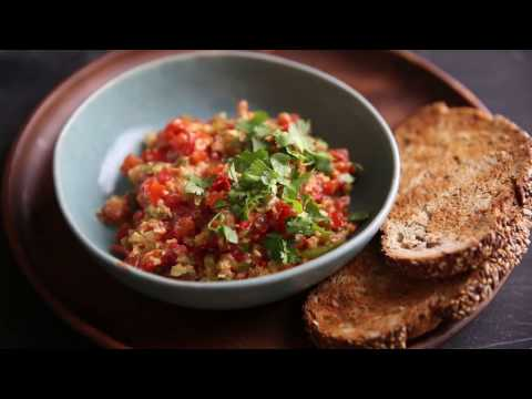 How to make Menemen (Turkish scrambled eggs)