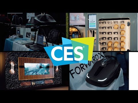 Cool Stuff from CES Unveiled and Samsung (CES 2019 Day 1)