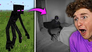Most CURSED Minecraft Mobs VS Real Life..