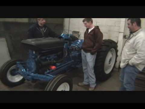 first start of my 1964 ford 2000 tractor youtube. Black Bedroom Furniture Sets. Home Design Ideas