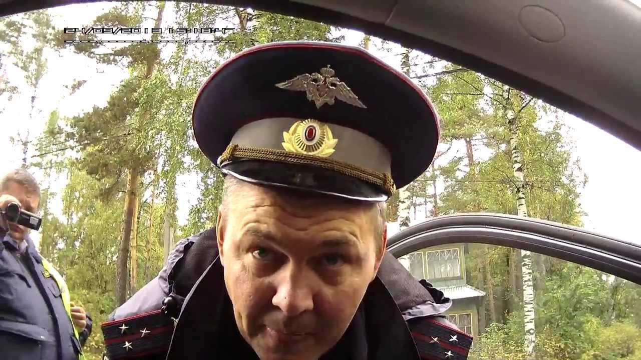 ДПС в посёлке Рощино Выборгского р-на Ленинградской обл.
