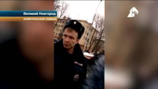 Сотрудники ДПС сломали протез автомобилисту в Новгороде