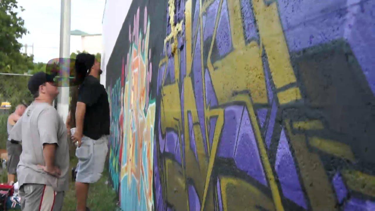 Dh dam 7up dmt crews miami wynwood graffiti art production