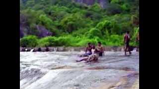 natural water slider @ thaaniparai,sathuragiri