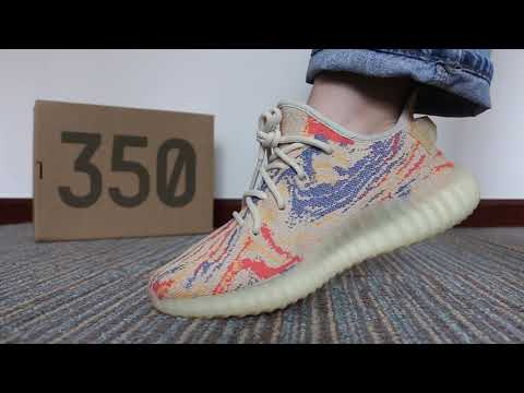 """FIRST LOOK Yeezy Boost 350 V2 """"MX Oat""""  ON FEET"""