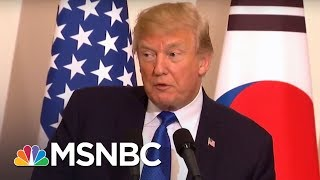 Stormy Daniels Takes A Page From The President Donald Trump Playbook | MTP Daily | MSNBC