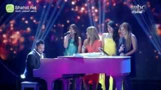Arab Idol - فارس المدني و المتسابقات