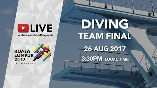 Diving Team Final | 29th SEA Games 2017