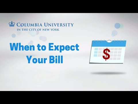 Billing Schedule | Columbia University Student Financial Services