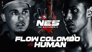 KOTD Rap Battle #One-Off - Flow Colombo vs Human Hosted by Klutch &...