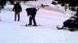Rocket Man on Skis!!!