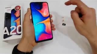 INSERT SIM & SD CARD Samsung Galaxy A20 (Dual SIM) _Gsm Guide