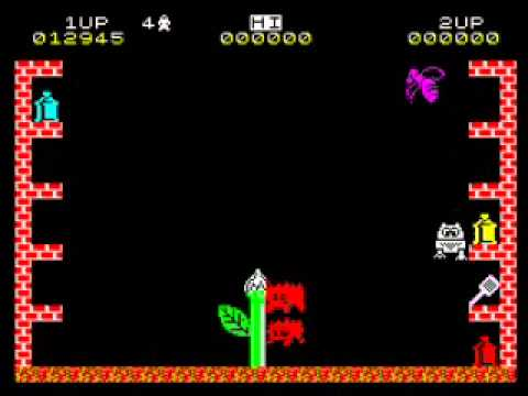 Pssst Walkthrough, ZX Spectrum