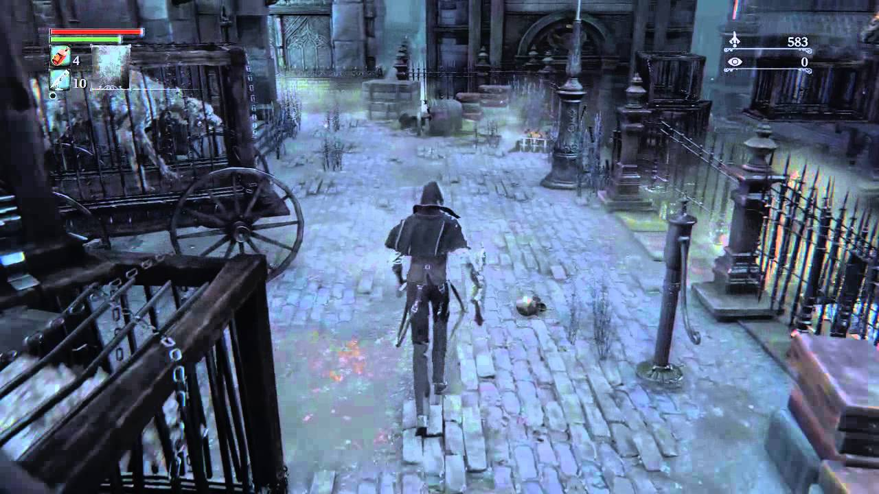 bloodborne how to open shortcut