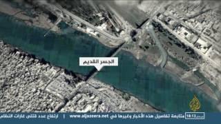 القصف يدمر جسور الموصل ولا مفر للمدنيين