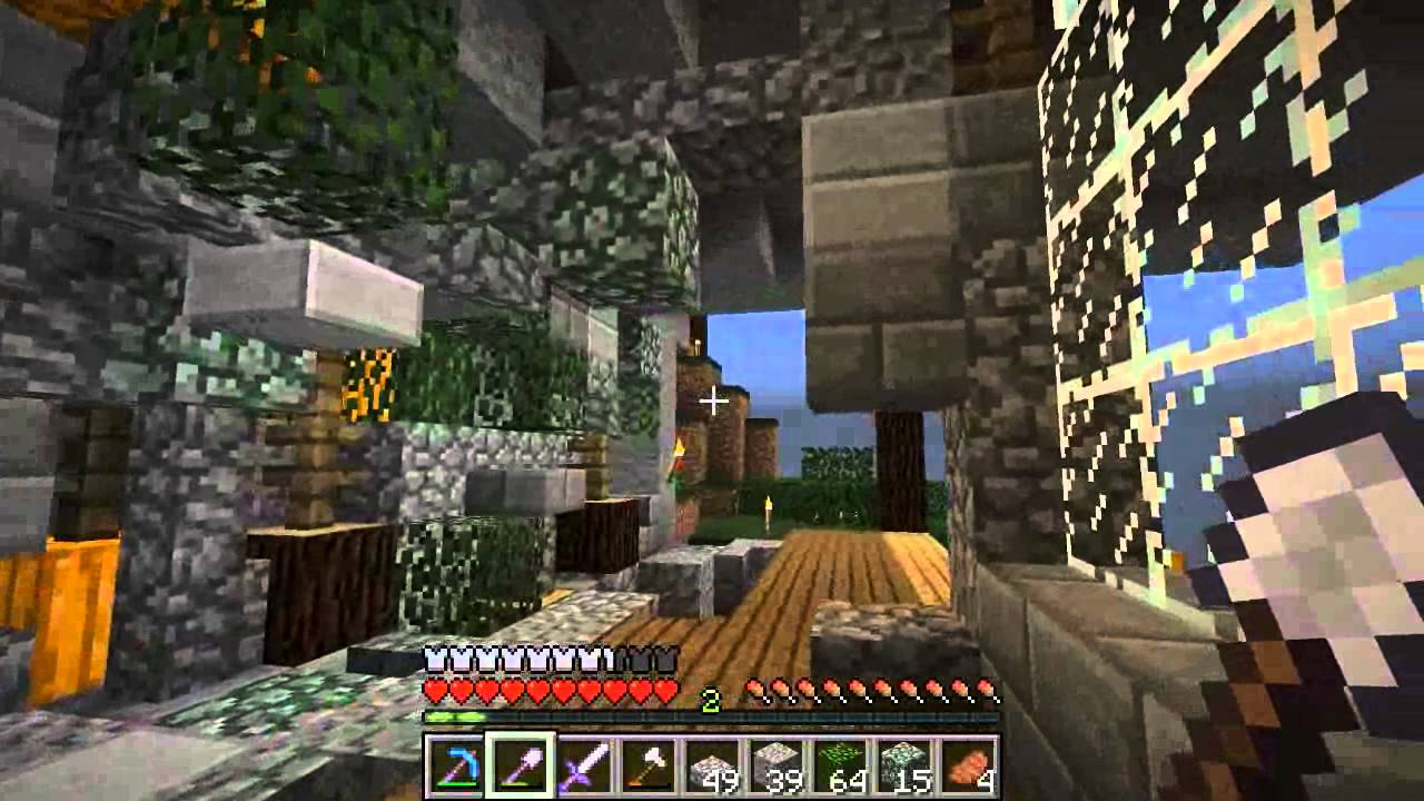 Minecraft Amplified Server: Episode 2. Building and Detailing ...