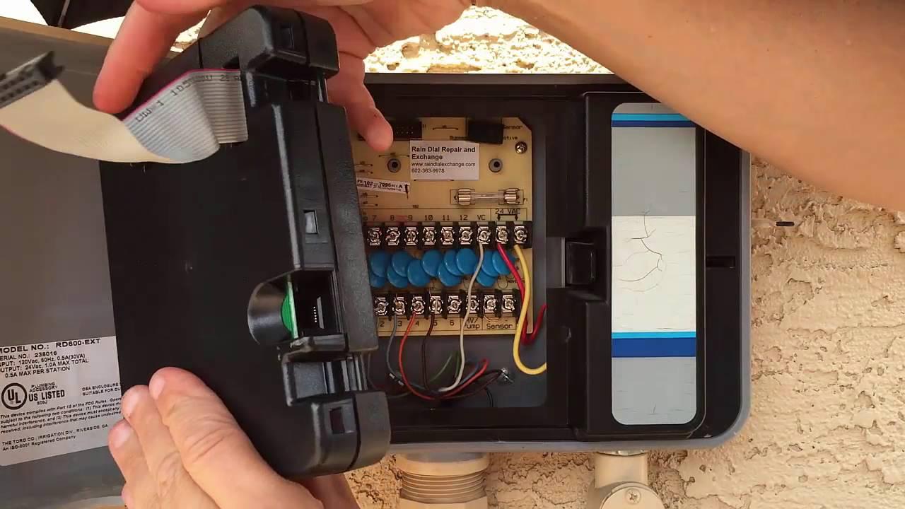 Irritrol & Hardie Rain Dial Module  Controller  Timer