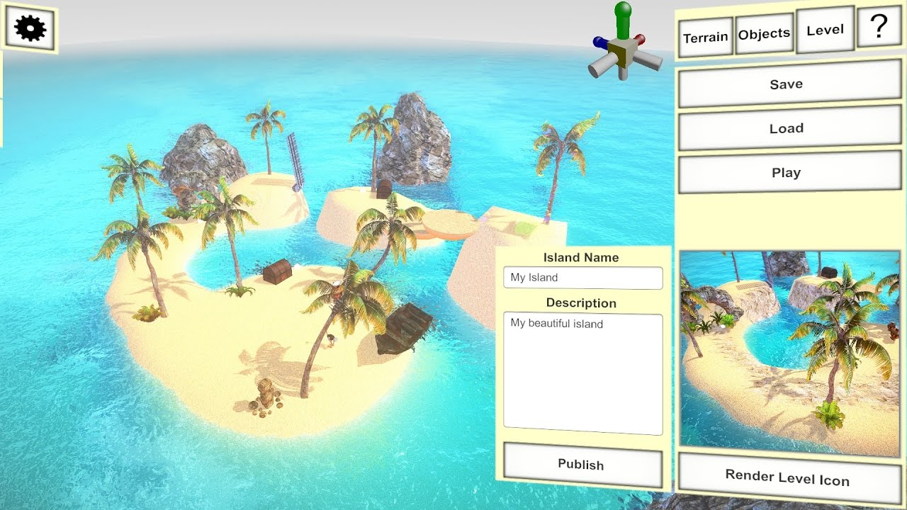 Design Your Own Island Map Howto create your own island in 5 minutes   YouTube