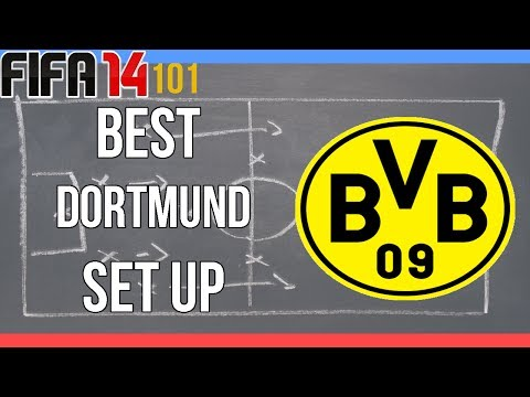 FIFA 14-101- Best Dortmund Team Guide (Squad and Formation)