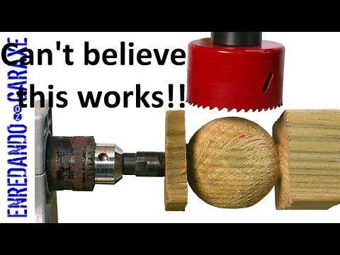 Make wooden balls easy