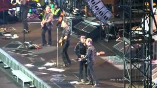 BRUCE SPRINGSTEEN GLORY DAYS - TWIST AND SHOUT LIVE IN MILAN @ S.SIRO 07/06/2012
