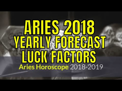 2018 Aries Horoscope  Mesha Rashi Lucky Colors, Numbers, Days