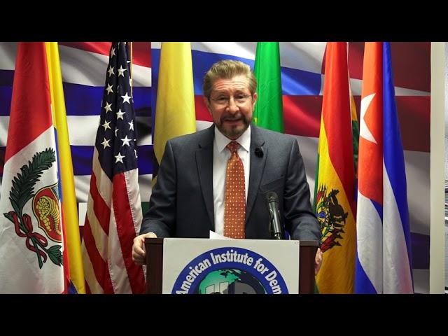 Carlos Sánchez Berzaín - Foro: Bolivia entre la República o la dictadura