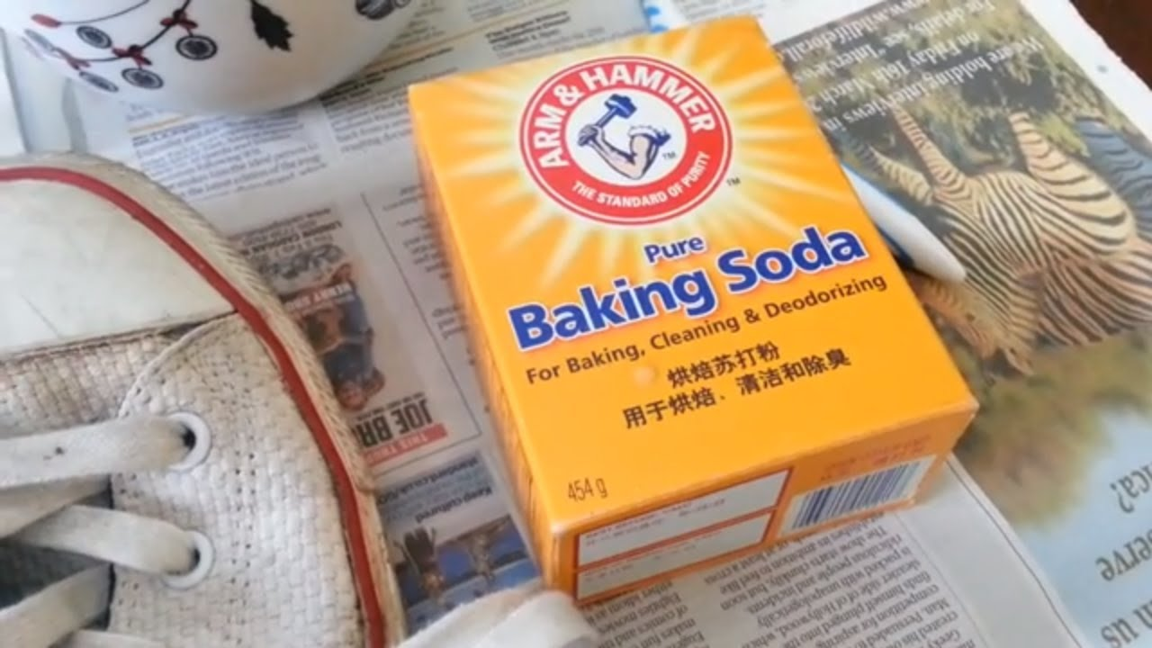 0811e8c58785 how to clean converse shoes easy baking soda washing machine - YouTube