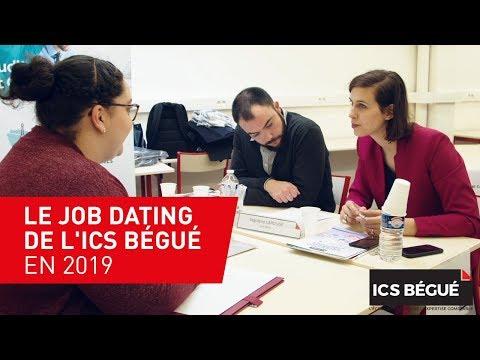 Le job dating de l'ICS Bégué en 2019