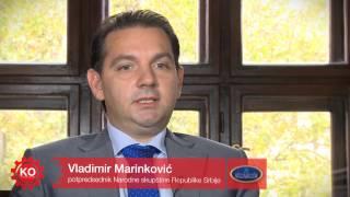 Vladimir Marinković   Pokretanje portala kojeodgovoran.rs