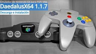 DaedalusX64 1.1.7: Emulador de Nintendo 64 para PS Vita (2019)