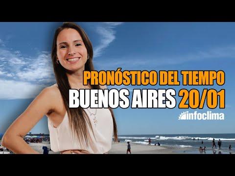 Pronóstico Para El 20 De Enero De 2020. Buenos AIres. Argentina - Infoclima TV