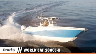 World Cat 280CC-X: First Look Video