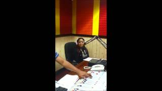FAME 95FM  E-Blaze with Debbie Bissoon and DJ Denvo