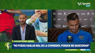 Tevez, sobre las polémicas del Argentina-Brasil: