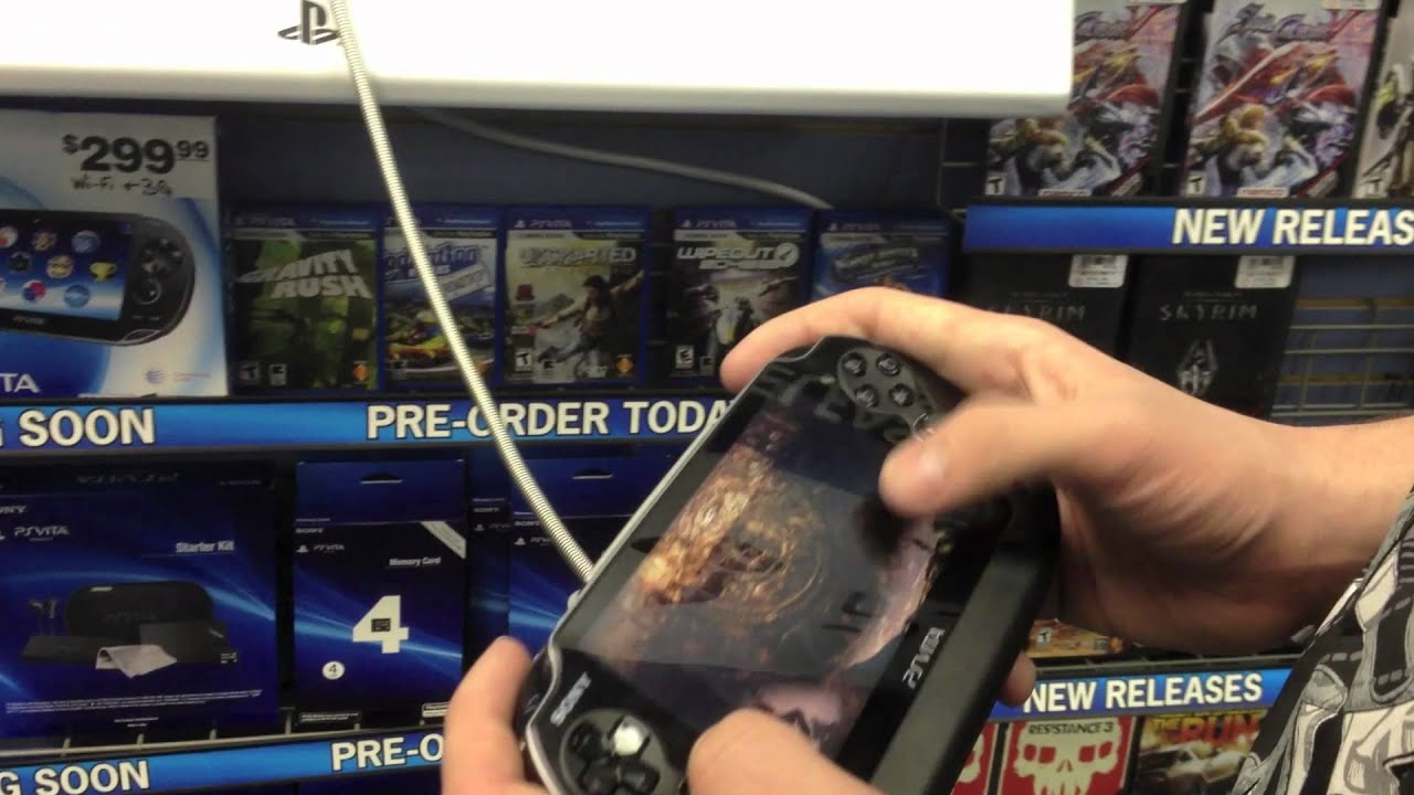 Ps Vita Hands On At Gamestop First Thoughts Youtube