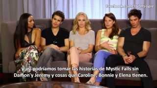 The Vampire Diaries Season 5 | Comic Con 2013 subtitulada en español