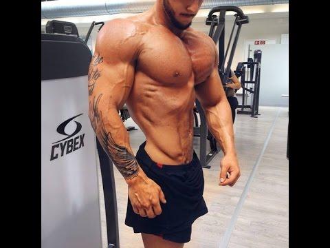 Kim Angel Male Fitness model Chest Motivation
