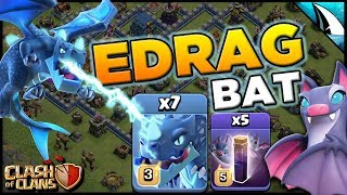 Mass EDrag Bats In Legend League - What Can It Take Out   Clash of Clans