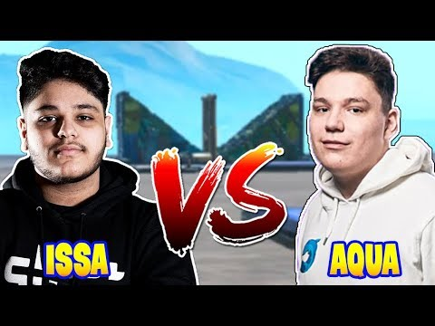 Ghost Issa Vs Cooler Aqua in 1v1 Build Fight WITHOUT Turbo Building