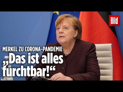 """Merkel: """"Uns ist das Ding entglitten"""" - Was dieser Corona-Satz bedeutet"""