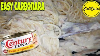 Easiest Century Tuna Carbonara | Easy and Affordable Recipe | how to cook Easy Carbonara