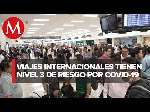Secretaría de Salud emite alerta para que mexicanos eviten viajes por pandemia