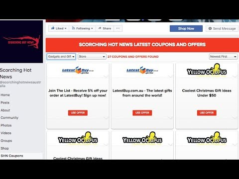 How to Add Coupons and Ads to Facebook Page 2018 free