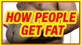 How & Why People Get Fat while some don't | Why am I Gaining Weight -your not losing the fat so fast