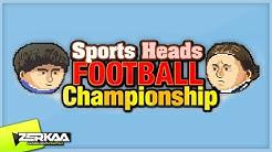 SPORTS HEADS FOOTBALL (WITH SIMON)