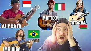 I REACT to the Guitarists YOU RECOMMENDED (..Alip Ba Ta, Matteo, Tatyana, Imbiriba, Marcin)
