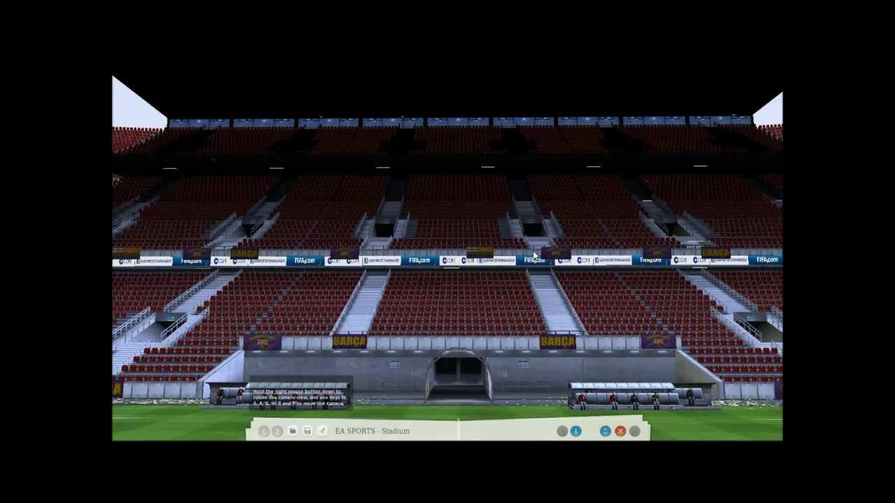 Virtual Stadium Tour Bernabeu