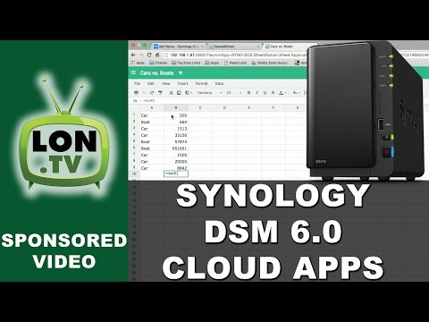 Synology DSM 6 0 : Spreadsheet , Note Station, Mail Plus