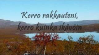 Jenni Vartiainen - Missä muruseni on (finnish and english lyrics)